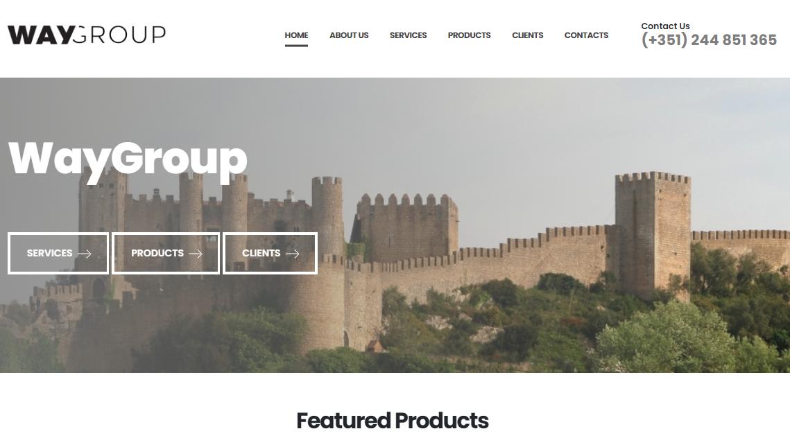 Já pode contruir o seu website em Ingês ou Francês